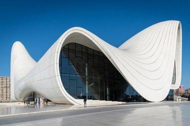 Центр Алиева.премия лучший дизайн мира 2012 г.
