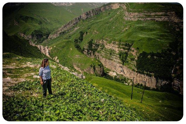 Живописнейший край Азербайджан