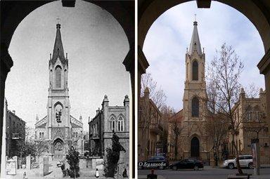Евангелическо-лютеранская церковь в городе Баку