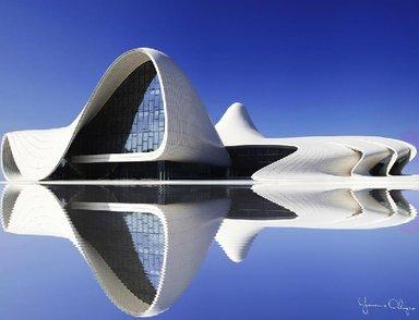 Центр Г.Алиева. лучший дизайн 2012 года