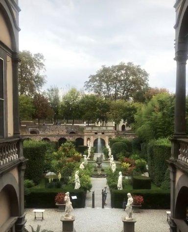 Сады дворца Пфаннер