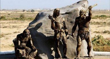 Скульптуры Гобустана