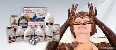 Реклама косметических средств из  нафталановой нефти