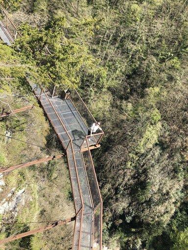 Висячие мосты каньона Окаце