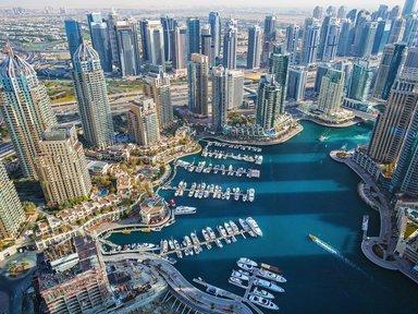 Бухта Дубай Марина