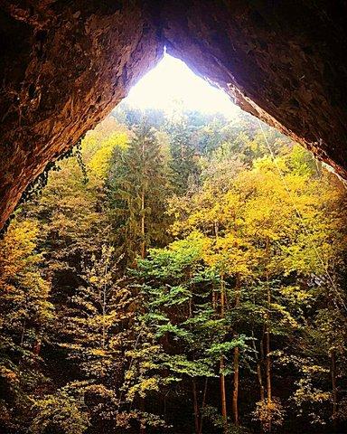 Вход в Катержинскую пещеру