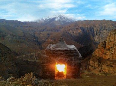 Храм огня - Атешгях в Хыналыг