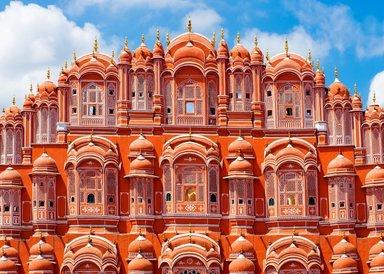 Дворец Хава-Махал, Джайпур.
