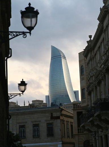Мой вечерний Баку