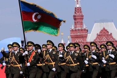 Участие азербайджанцев на празднике Великой победы в Москве