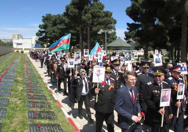 Бессмертный полк. Баку