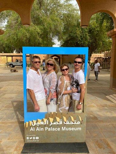 Гости из Германии на экскурсии Аль-Айн