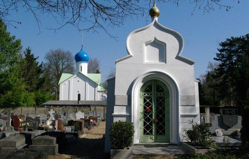 Русское кладбище