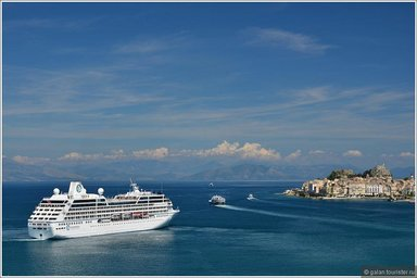 Международный порт Корфу