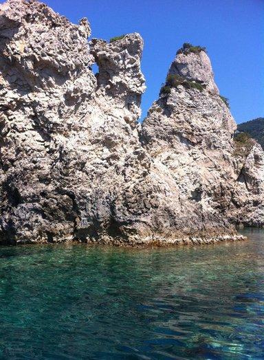 Морская прогулка-купание  на самым известных пляжах Корфу