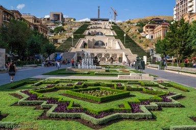 Архитектурно-монументальный комлекс Каскад