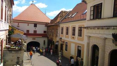 Каменные ворота Верхнего города Градеца