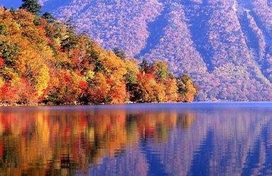 Вид с берега озера Чузенджи