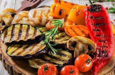 Барбекю из овощей