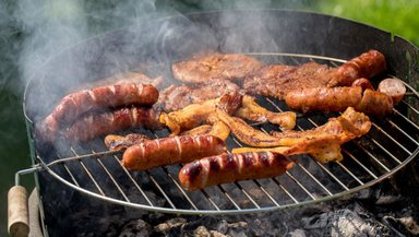 Барбекю из чорисо и мяса