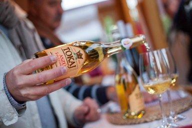 Дегустация токайского вина