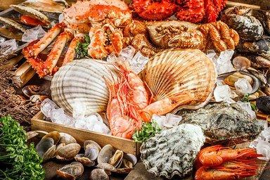 Типичные морепродукты