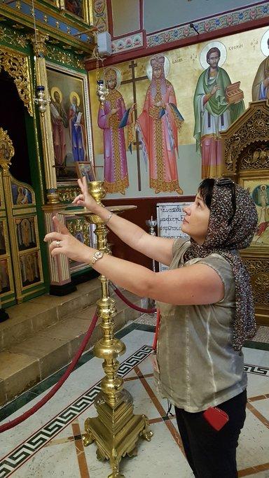 православная церковь на горе Фавор