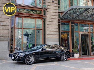 Mercedes S class, VIP трансферы в Будапеште