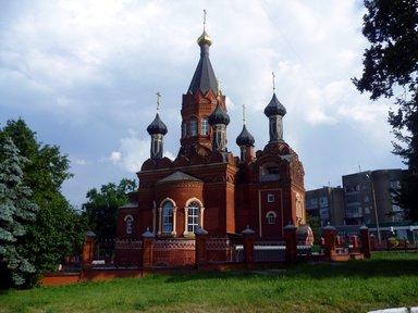 г.Брянск. Спасо-Гробовская церквовь.