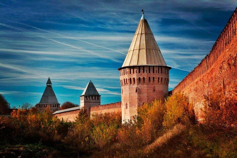 Древняя смоленская крепость  -щит России