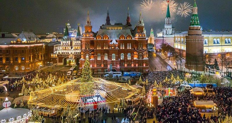 """Автобусный тур в Москву """"Новый год 2021"""""""
