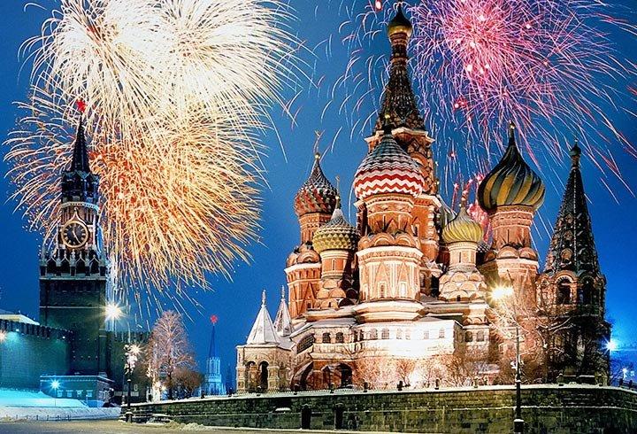Автобусный тур в Москву «Новогодние каникулы»