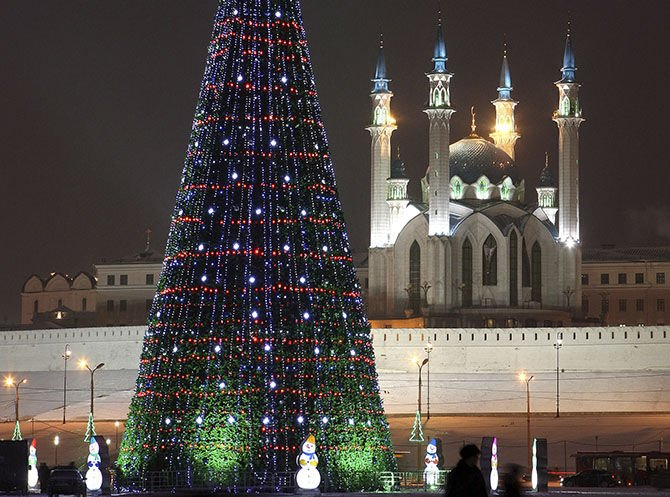 Автобусный тур «Рождество в Казани»