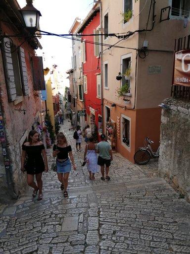 Венеция в миниатюре или просто город Ровинь