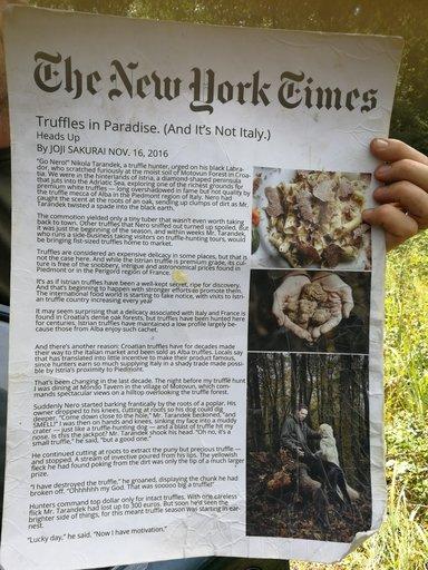 О нашем охотнике известно и в Нью Йорке(США)