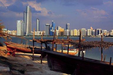 Набережная Абу Даби