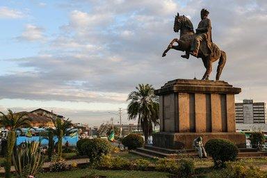 Menelik II monument