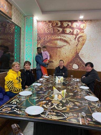 Local restaurant in Agra