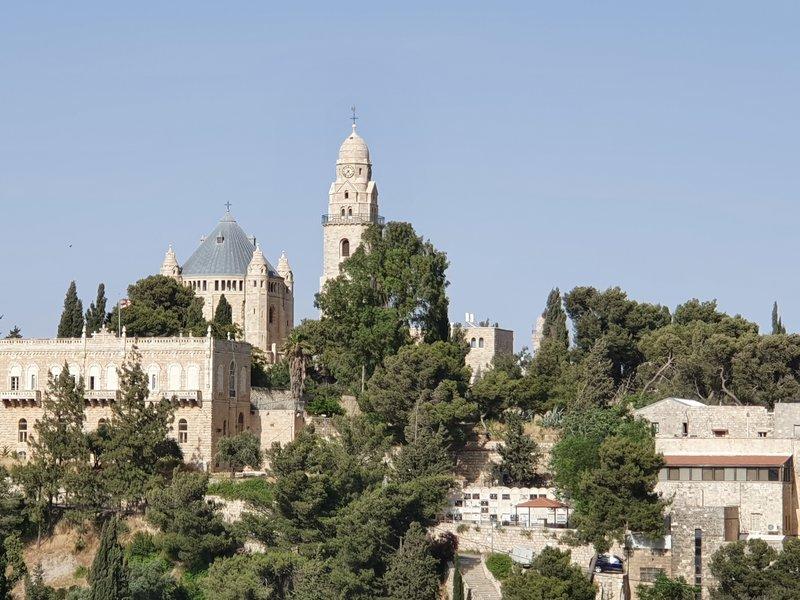Гора Сион.