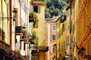 Старый город в Ницце