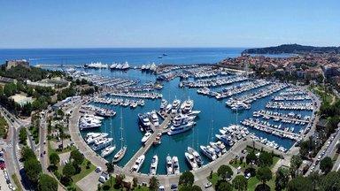 Крупнейший в Европе порт для частных яхт в Антибах