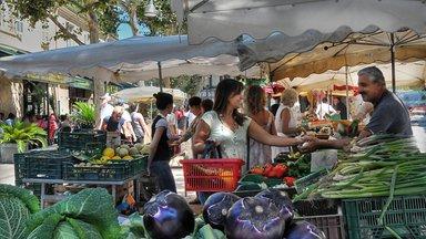 Типичный провансальский рынок