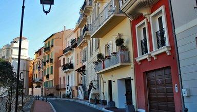 Старый город в Монако