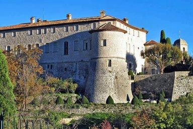 Средневековый замок в Гурдоне