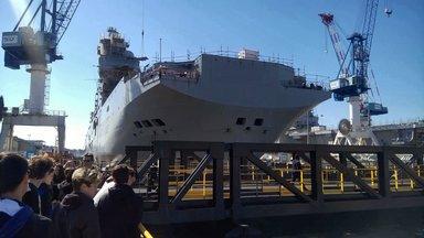 Гигантские военные корабли