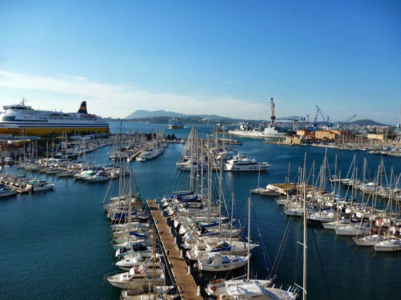 Тулонский порт