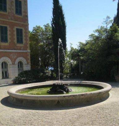 Палацио и фонтан