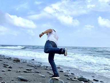 海岸でもいけます!