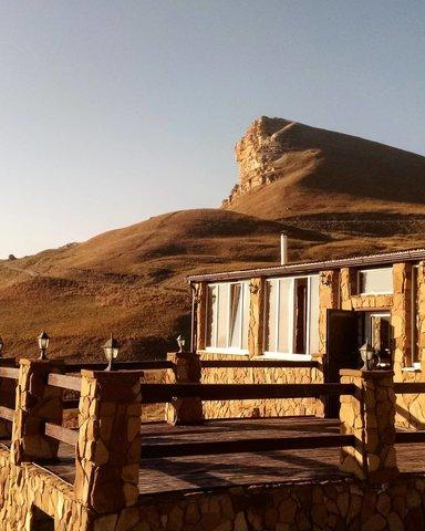 Гора Сфинкс ( наверх мы заезжаем)