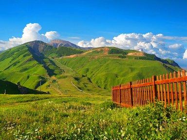 Альпийские склоны комплекса Шахдаг